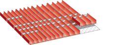 Einteilungsmaterial, Mulden, Fronthöhe 50, 36x36E 100.318.000