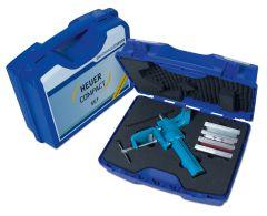Kofferset HEUER Compact mit Tischklammer und Schutzbacken Typ P, N, F und G