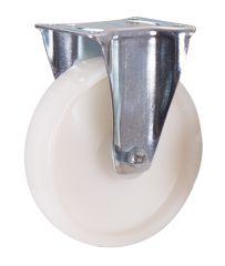 Bockrolle Polyamid, 200 x 50 mm, weiß